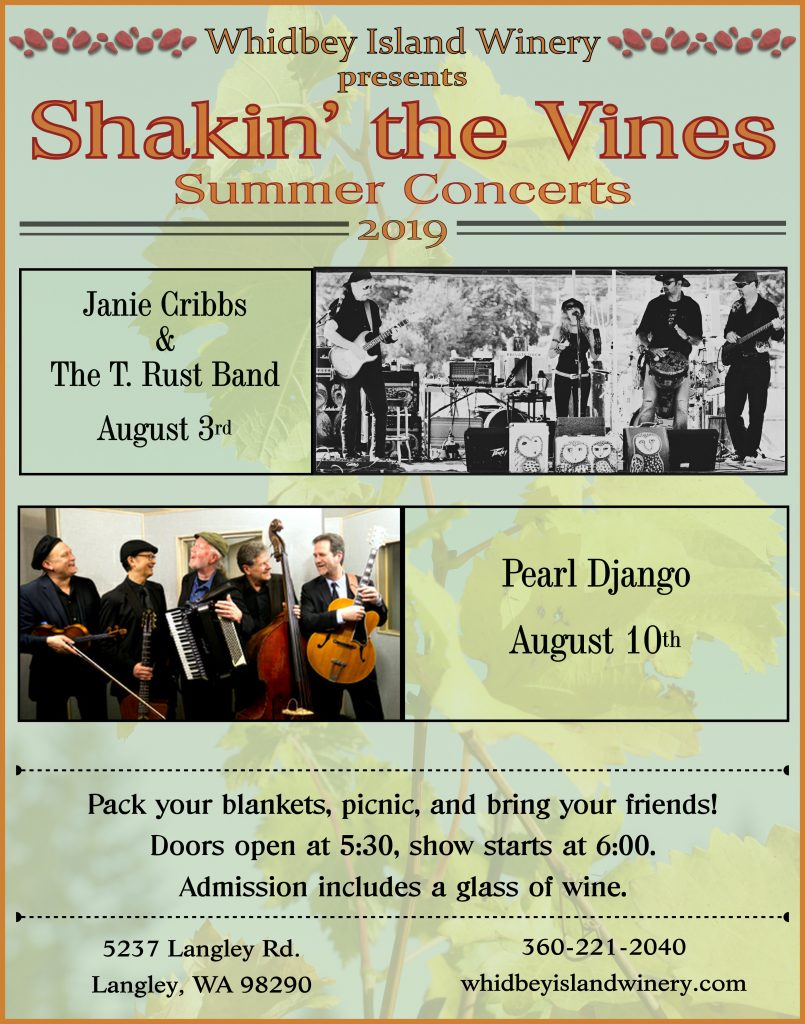 Shakin The Vines 2019 -Steve